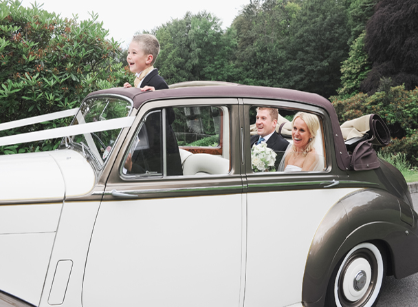 LDCH Wedding car