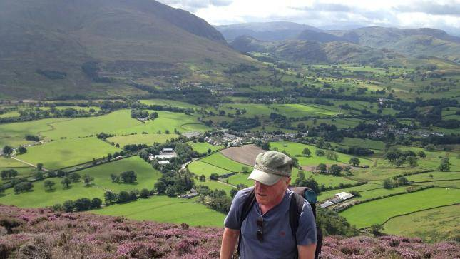 Walk up Blenchathra