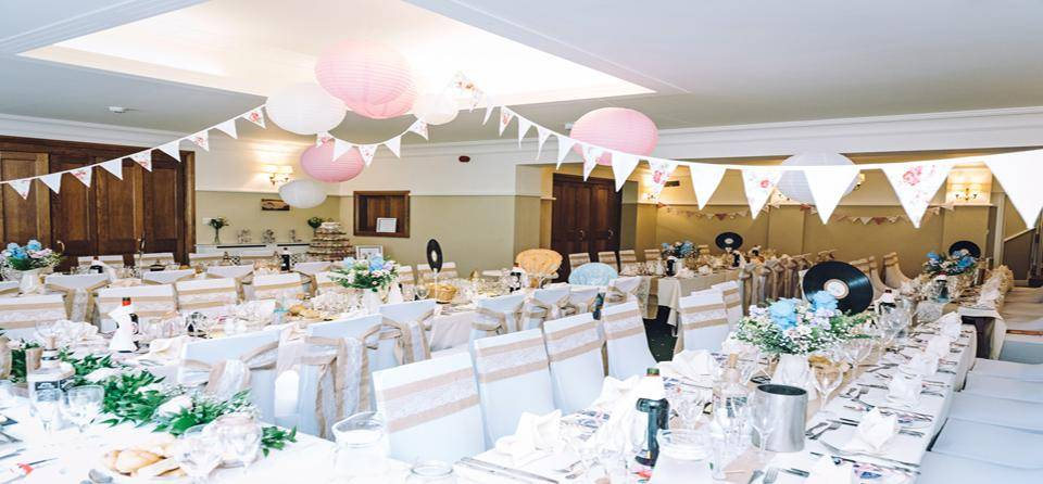 Briery Wood wedding breakfast layout