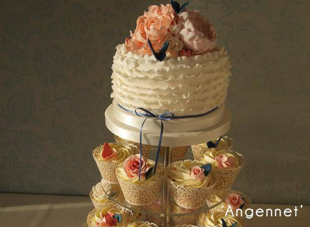 Angennet Wedding Cake