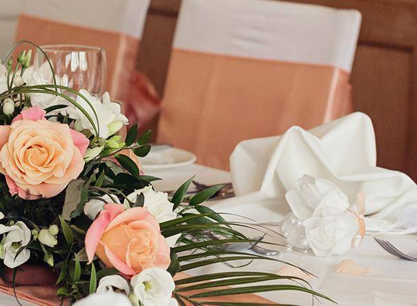 Cragwood wedding gallery breakfast layout image