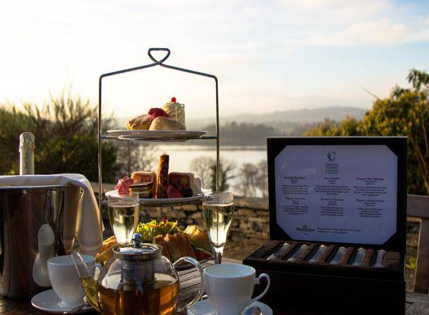 Cragwood Afternoon Tea on the Terrace
