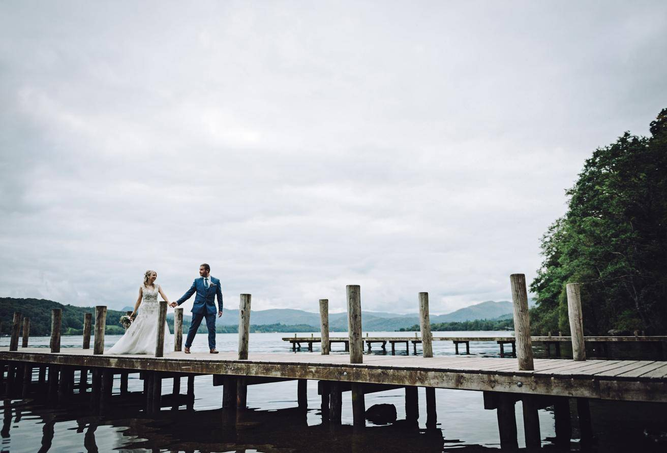 Briery Wood wedding gallery lake image