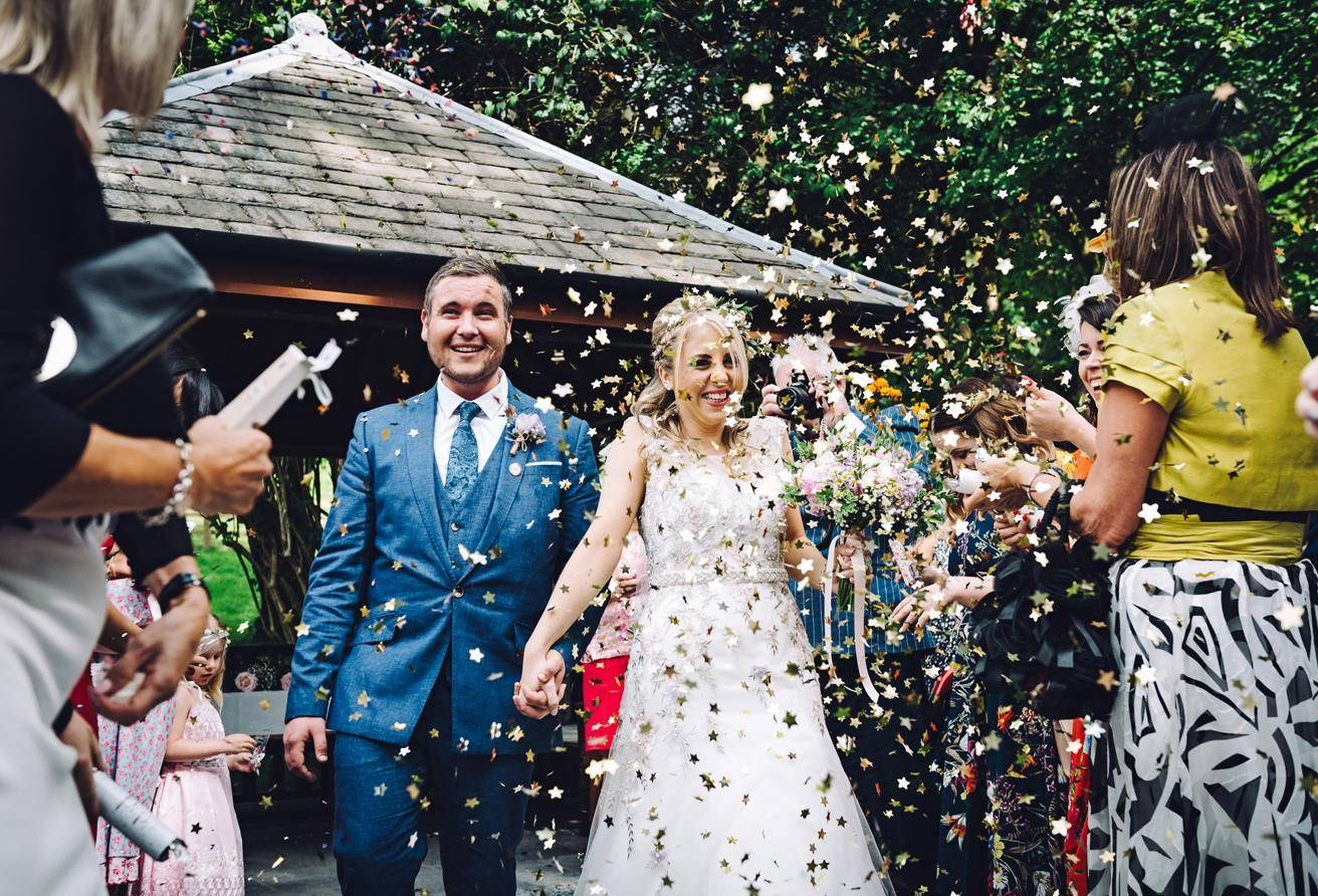 Briery Wood wedding gallery Gazebo Confetti