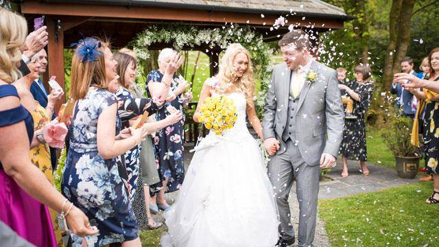 Briery Wood Wedding Open Day Outdoor Ceremony